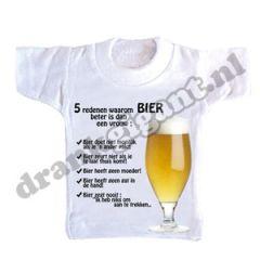 Vijf Redenen Flessen T-shirt