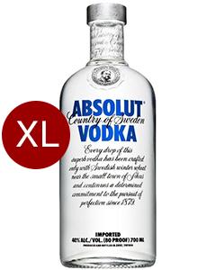 Absolut Vodka Original 4,5 liter XXL