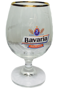 Bavaria 'n Bolleke voetglas OP=OP