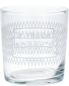 Bobby's Schiedam Dry Gin Gin Glas Laag