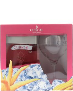 Botanic Cubical Rose Gin Giftpack