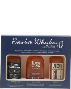 Bourbon Whisky Tasting Set 3x5cl