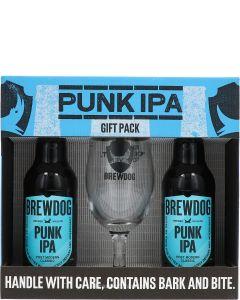 Brewdog Punk IPA Gift Pack + Glas