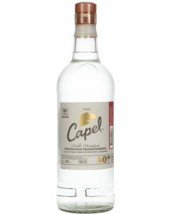 Capel Doble Destilado Reservado Transparente Pisco
