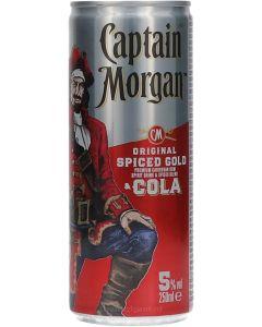 Captain Morgan & Cola In Blik
