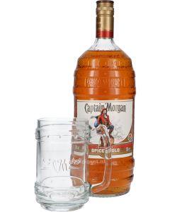 Captain Morgan Exclusive Barrel Bottle XL + Gratis Pull