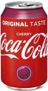 Coca Cola Cherry blik