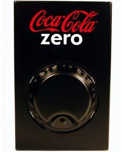 Coca Cola Zero Wandopener Zwart
