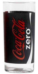 Coca Cola Zero Classic Glas