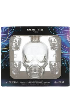 Crystal Head Vodka Gift Set met Glazen
