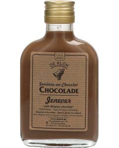 De Klok Chocolade Jenever Zakflacon