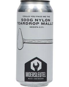 De Moersleutel 500G Nylon Teardrop Mallet NEDIPA
