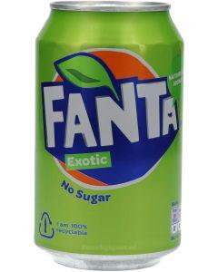 Fanta Exotic Sugar Free