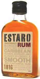 Estaro Rum Dark zakflacon