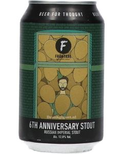 Frontaal 6th Anniversary Stout