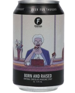 Frontaal Born And Raised Imperial Chocolate Mudcake Stout