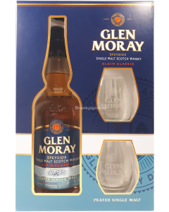 Glen Moray Peated Single Malt Giftpack