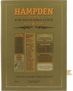 Hampden Estate 8 Years Giftpack