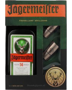 Jagermeister Giftpack Metal Shot Cups