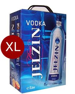 Boris Jelzin Vodka 3 Liter Box