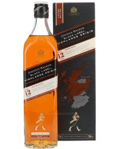 Johnnie Walker Black Label 12 Year Highlands Origin