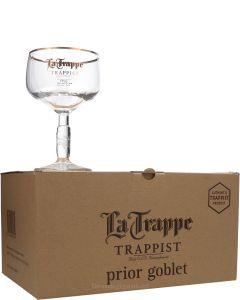 La Trappe Prior Bierbokaal (Doos 6 Stuks)