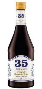 Licor 35 Creme de Pastel de Nata