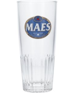 Maes Ribbelglas Retro Logo