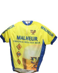 Malheur Cycling Shirt Yellow-Blue Size XL