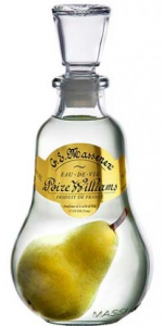 Massenez Poire Williams Eau de Vie met Peer