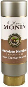 Monin Hazelnoot Chocolade Topping