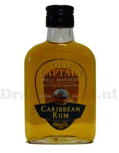 Old Captain Bruin Zakfles