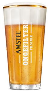 Amstel Ongefilterd Vaasglas