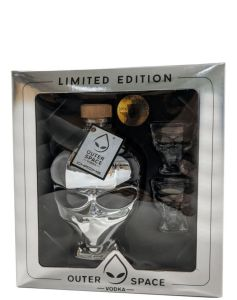 Outerspace Vodka Chrome Giftbox