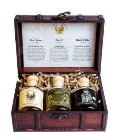 Pirates Grog Mini Set Wooden Box