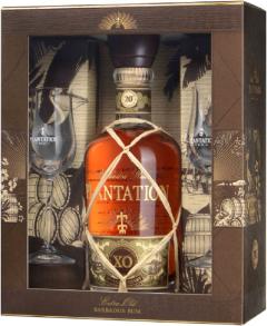 Plantation XO Geschenkbox + Glazen