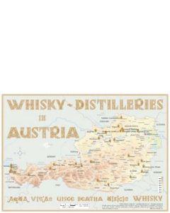 Poster Austria Distilleries 60 x 42cm