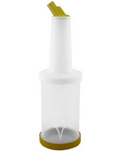 Save & Pour Cocktail Bottle Yellow