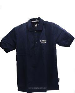 Schneider Weisse Polo Blauw Size M