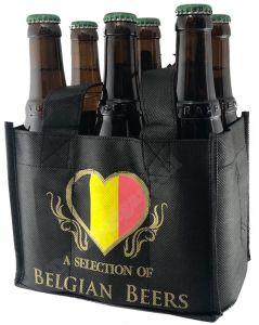 A Selection of Belgian Beers 6 Flessentas