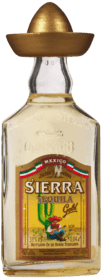 Sierra Tequila Gold Mini