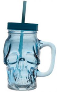 Skull Bokaal Blue