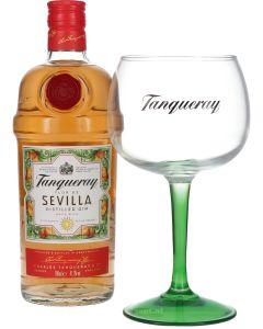 Tanqueray Flor de Sevilla + Gratis Glas