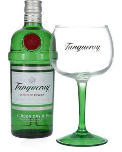 Tanqueray London Dry Gin + Gratis Glas