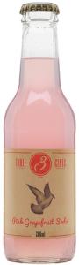 Three Cents Pink Grapefruit Soda