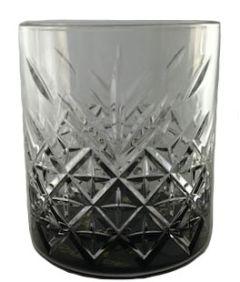 Crystal Look Whisky Glas Zwarte Bodem