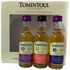 Tomintoul Triple Tasting Pack Mini
