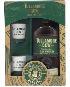 Tullamore Dew Giftpack + Ceramic Cups
