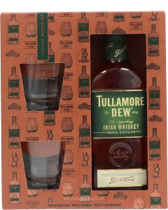 Tullamore Dew Giftpack met Glazen