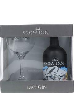 Wild Snow Dog Dry Gin + Copa Glas